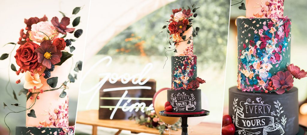 Rock 'N' Roll Wedding Cake